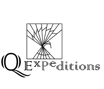 Q Expeditions logo and text image.